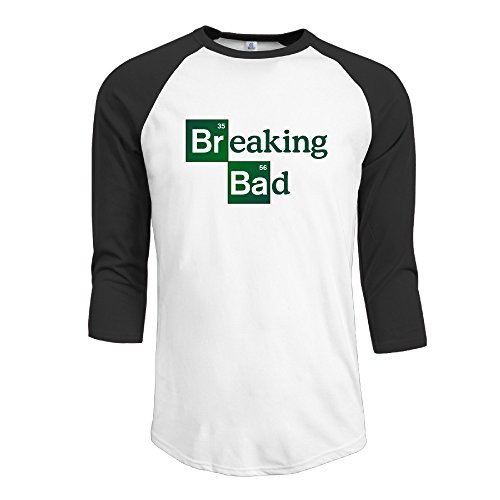 breaking-bad-logo-men-3-4-sleeve-baseball-tee-summer-casual