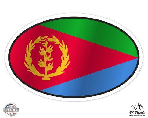 Eritrea Flag Oval - 7