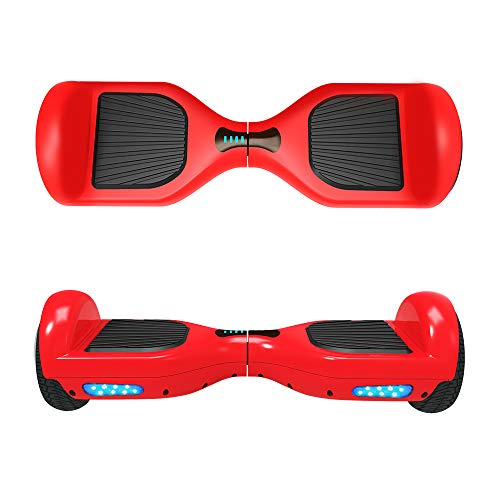 VEEKO Hover Board UL2272 Certified Bluetooth Connect Stereo Bluetooth Speakers Easy Stay Balance Scooter Two-Wheel Electric Hoverboard Transporter for 14+ Fast Charger Max Speed Control 10KMH -