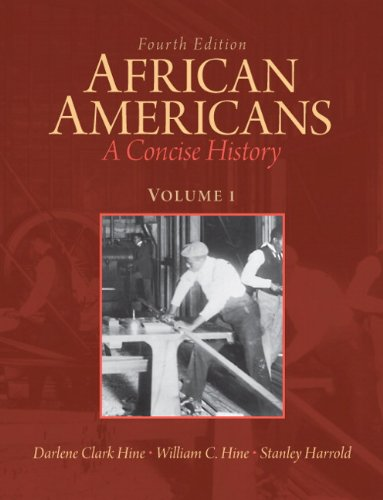Search : African Americans: A Concise History, Volume 1 (4th Edition)
