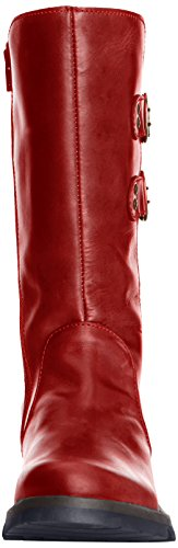 Fly London Suli Ladies Boot Red Fv8Pkoo