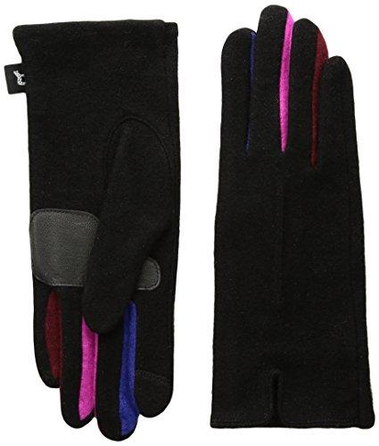 Echo Women's Color Block Fourchette Glove, black, Small