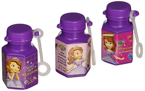 Mini Bubbles | Disney Sofia The First Collection | Party Accessory ()