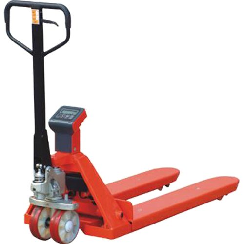 Action Handling HPTSCALERTP Weigh Scale Pallet Truck, 2000 kg Load Capacity, 1150 mm Fork Length, 85 mm to 200 mm Fork Height