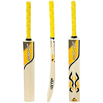 Zeepk Tennis Tape Ball Cricket Bat Full Size Hand Made Kashmir Willow Babershair