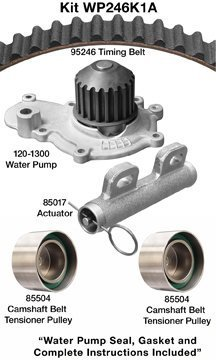 Dayco WP246K1A Water Pump Kit w/o Seals by Dayco (Image #1)