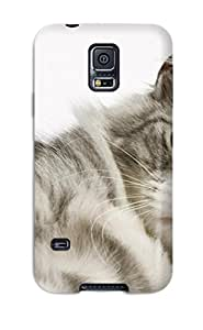 High Quality Monica Mankarious Cat Skin Case Cover Specially Designed For Galaxy - S5