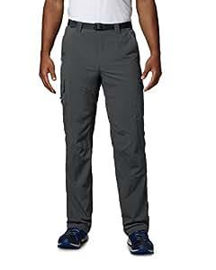 Columbia Wanderhose Silver Ridge Cargo Pants Pantalón, Hombre, Grill, W34/L32