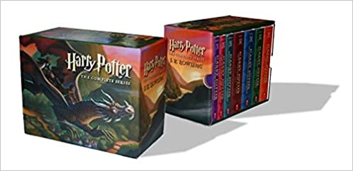 HARRY POTTER PAPERBACK BOXED SET: BOOKS #1-7 BY AUTHOR ROWLING ...