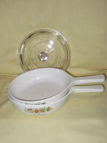 (3 PIECE SET - Vintage Corning Ware