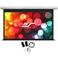 Elite Screens Saker, 150-inch 16:9 with 12 Drop, Electric Motorized Drop Down Projection Projector Screen, SK150XHW-E12
