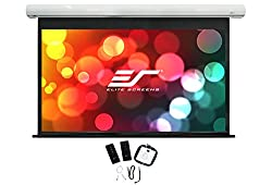 Elite Screens Saker 150 Inch 16 9 With 24 Drop Electric Motorized Drop Down Projection Projector Screen Sk150xhw E12