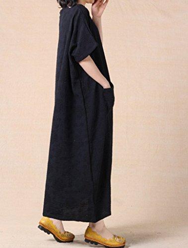 Vogstyle - Vestido - para mujer negro