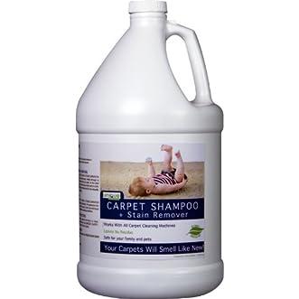 Unique Natural Products Pet Carpet shampoo/Stain Eliminator, 128-Ounce