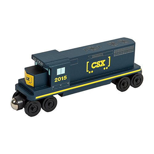 CSX-T GP-38 Diesel Engine - Wooden Toy Train by Whittle Shortline Railroad - Freight Train Toy