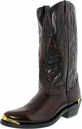 Laredo Mens Mccomb Western Boot Cherry
