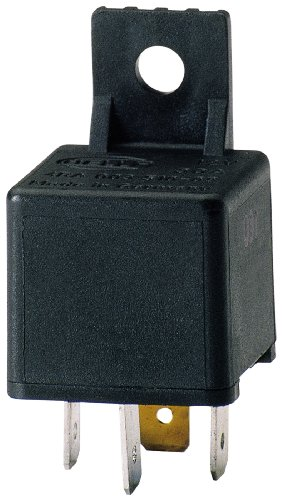 HELLA 003510087 30 Amp 12V Mini SPST Relay with Bracket