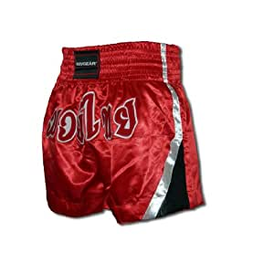 """Muay Thai Shorts Red-blue (Red, L = 30 - 33"""")"""