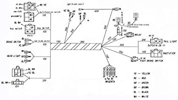 american sportworks wiring diagram amazon com templehorse complete wiring harness kit wire loom  wiring harness kit wire loom