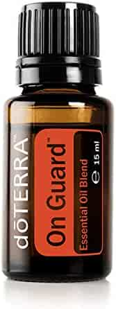 doTERRA - On Guard Essential Oil Protective Blend - Supports Healthy Immune and Respiratory Function, Supports Natural Antioxidant Defenses; For Diffusion, Internal, or Topical Use - 15 mL