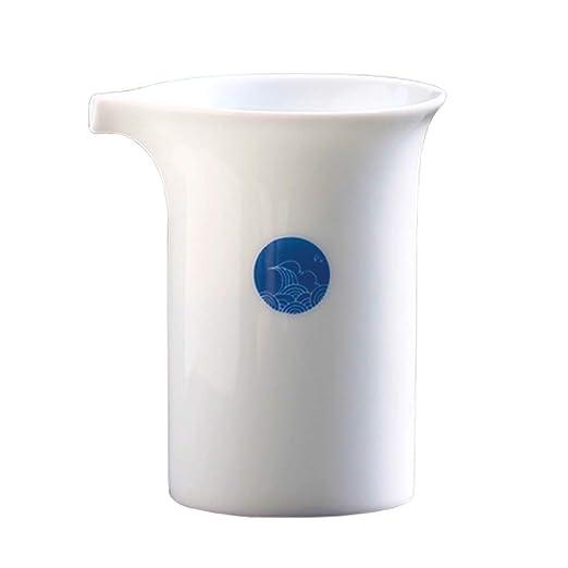 Jarra de café de cerámica con asa, 230 ml, jarra para espumar ...