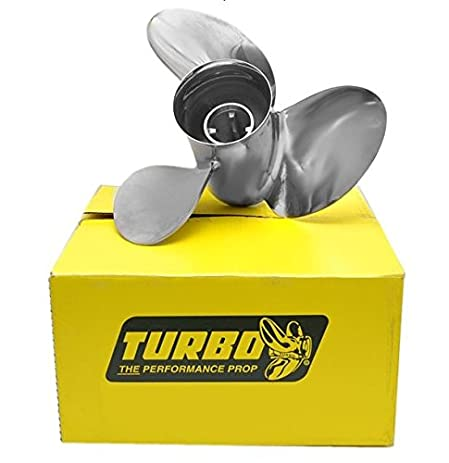 "Turbo TXP Series Propeller with Vent Ports (4.75"" Gear Case)  RIGHT Rotation"