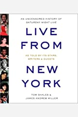 By Tom Shales Live from New York: An Uncensored History of Saturday Night Live (Abridged) [Audio CD]
