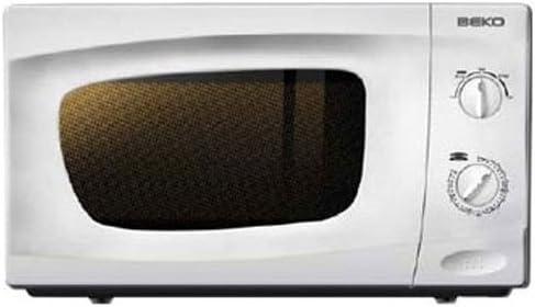 Beko - Microondas Mwc2000Mw, 20L, 700W Blanco Sin grill: Amazon.es ...