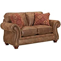 Broyhill Laramie Loveseat, Chocolate
