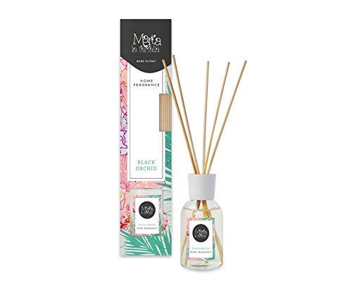 profumatore deodorante per ambienti e armadi con diffusore a bastoncini profumazione orchidea 100ml 1pz FRA-BER