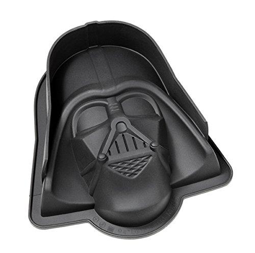 Star Wars XL Backform Darth Vader, Kuchenform aus Silikon 22x 20,5x 6,8 cm