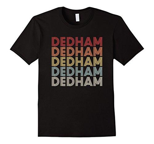 Vintage Retro Dedham T-Shirt For Dedham Iowa