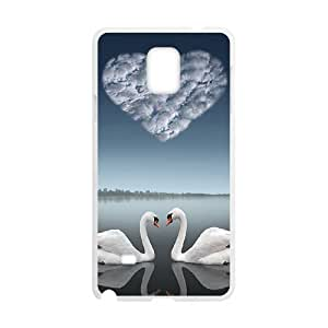 GGMMXO Swan Shell Phone Case For samsung galaxy note 4 [Pattern-1] Kimberly Kurzendoerfer