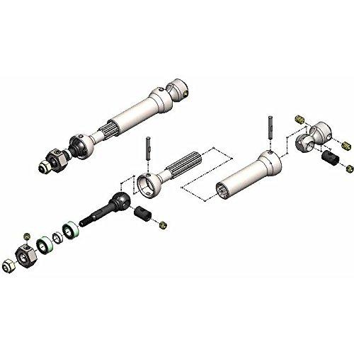 Mip Cvd Part - MIP Rear X-DUTY CVD Kit, keyed: Slash, Slash 4x4