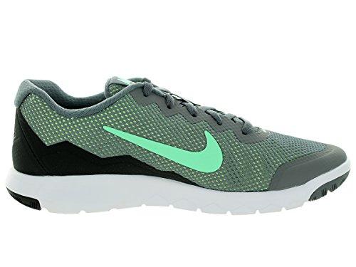 Nike Donna Flex Esperienza Rn 4 (w) Cl Gry / Grn Glw / Anthrct / Ghst Gr Scarpe Da Corsa 7 Larghe Donne Us