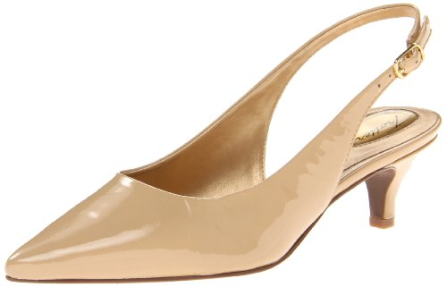 Women Patent Leather Pointed High-heeled Shoes Nude - 9