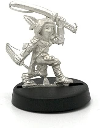 Stonehaven Gnome Assassin Miniature Figure (for 28mm Scale Table Top War Games) - Made in USA