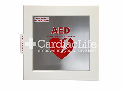 AED Cabinet for ALL AEDs with AED Signs ()