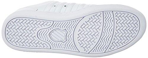 Mtllc White TT Blanc Swiss III Femme K Silver Sneakers Basses Lozan Pink 7zFqw7x1I