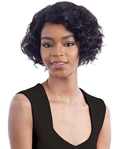 MISSY (1 Jet Black) - Milkyway SAGA 100% Human Remy Hair Lace Front Wig