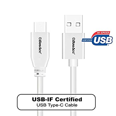 BasAcc 3.3ft(1m) USB-IF Certified Type C Type-C USB-C Reversible Cable