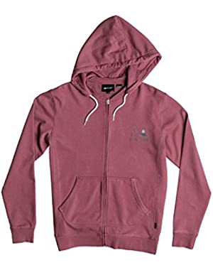 Mens Bubble Fleece Hoody Zip Sweatshirt