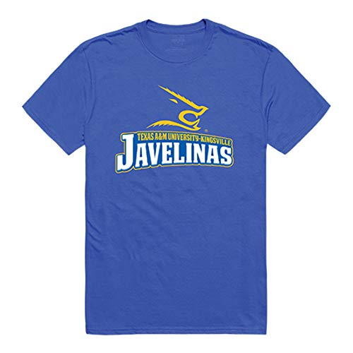 (W Republic Javelinas Texas A&M Kingsville NCAA The Freshmen Tee Mens t Shirt - Medium, Royal)