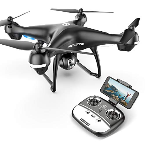 Holy Stone HS100G Drone with 1080p FHD Camera 5G FPV Live Video and GPS Return Home Function RC Quadcopter for Beginners Kids Adults with Follow Me, Altitude Hold, Intelligent Battery ()
