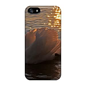 New Beautiful Swan Sunset PC Anti-scratch Grace's Favor For LG G3 Phone Case Cover