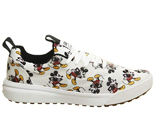 Vans X Disney Ultrarange Rapidweld Shoes (13.5 M US Women / 12 M US Men, Mickey Mouse/White)