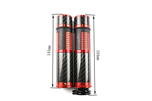 Carbon Fiber Universal 22mm 7/8