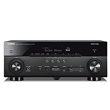 Yamaha RX-A780 AVENTAGE 7.2-Channel AV Receiver with MusicCast Black