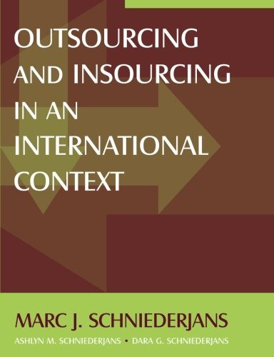Outsourcing and Insourcing in an International Context by Brand: M E Sharpe Inc (Image #1)