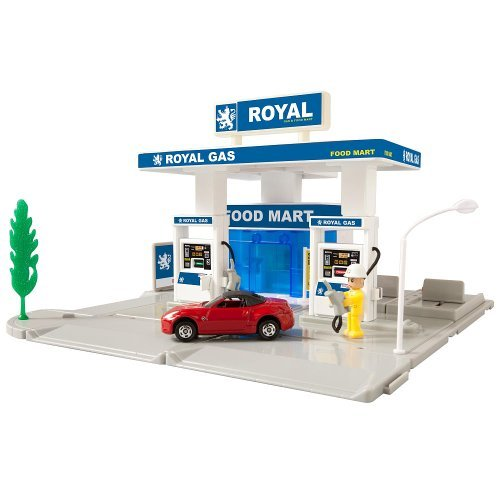 - TOMICA Hypercity Rescue Gas Station Fire